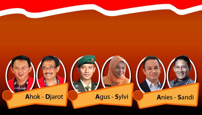 LIVE Quick Count Pilkada DKI Jakarta 2017 - Hasil Hitung Cepat