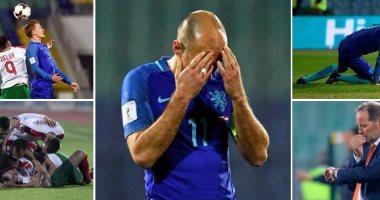 منتخب هولندا في مهب الريح بعد الخسارة امام بلغاريا