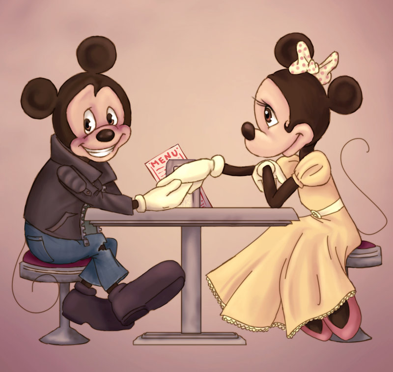 Mickey and minnie dating since 1928