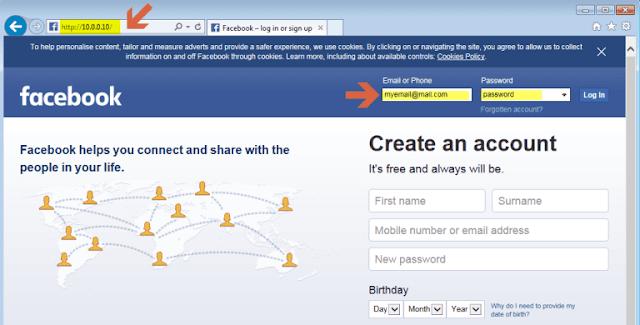 تهكير حسابات الفيسبوك بواسطة نظام كالي لينكس عبر أداة الهندسة الإجتماعية SEToolkit