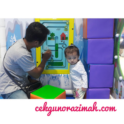 dreamworld playland, playland ioi city mall, ioi city mall putrajaya, indoor playland, irfan hensem, dhia zahra