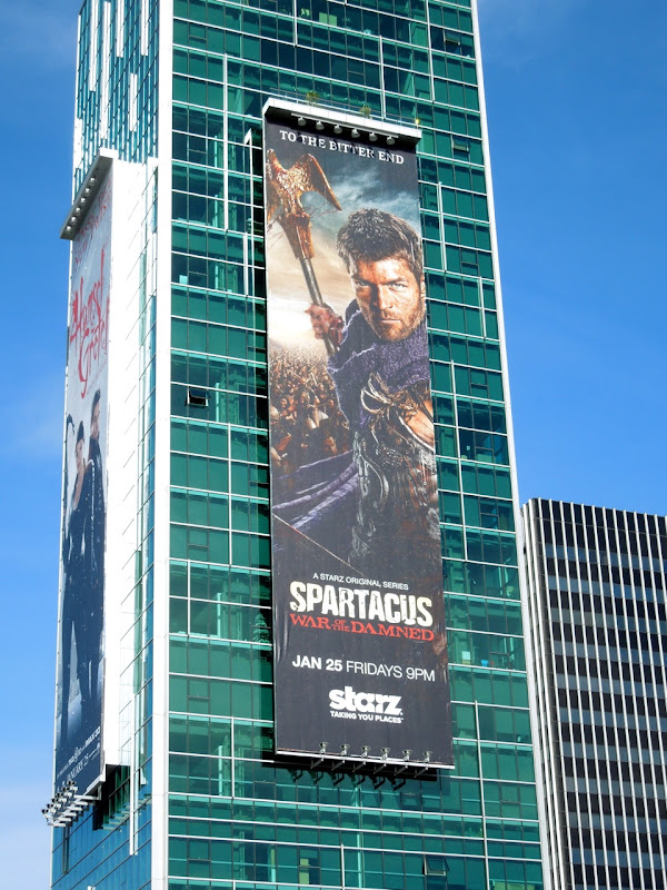 Spartacus War Damned billboard