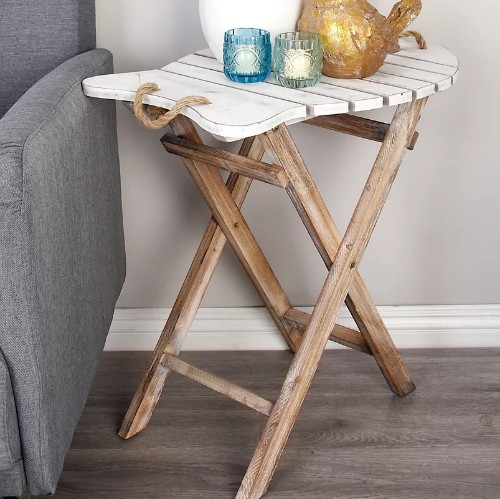 Fish End Table