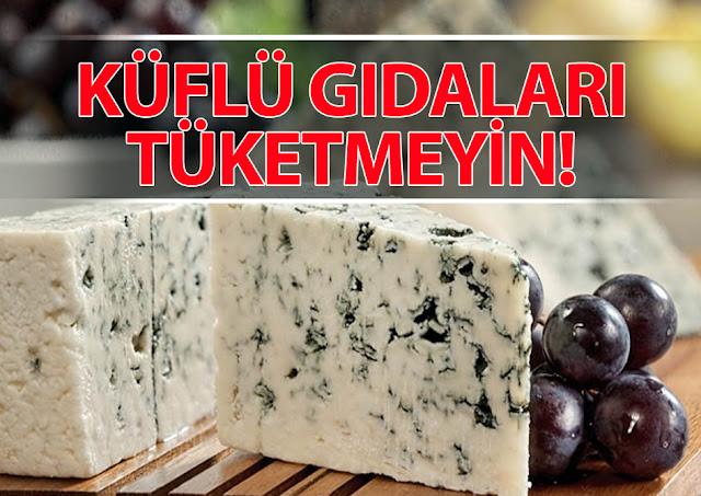 küf, aflotoksin, aflatoksin, üzüm, gıda, küflü gıda, peynir, küflü peynir