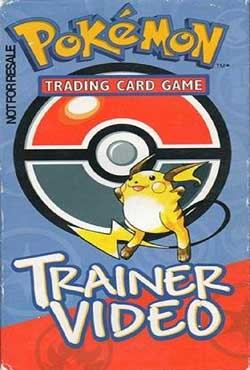 Pokémon Trading Card Game: Trainer Video (1999)