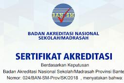 [Cara] Download Sertifikat Akreditasi Sekolah - Madrasah di Akun SISPENA
