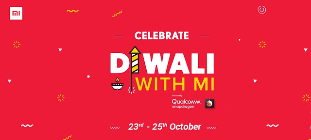 Xiaomi Diwali with Mi 23rd-25th Oct | ₹1 Flash Sale & DWM Specials