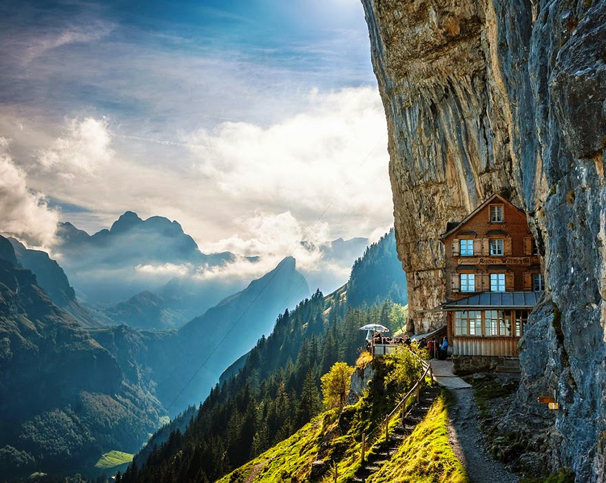 8. Ascher Cliff, Switzerland - 26 Of The Coolest Hotels In The Whole Wide World