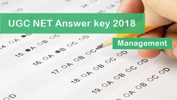 UGC NET Management Answer Key