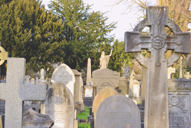 Victorian cemetery