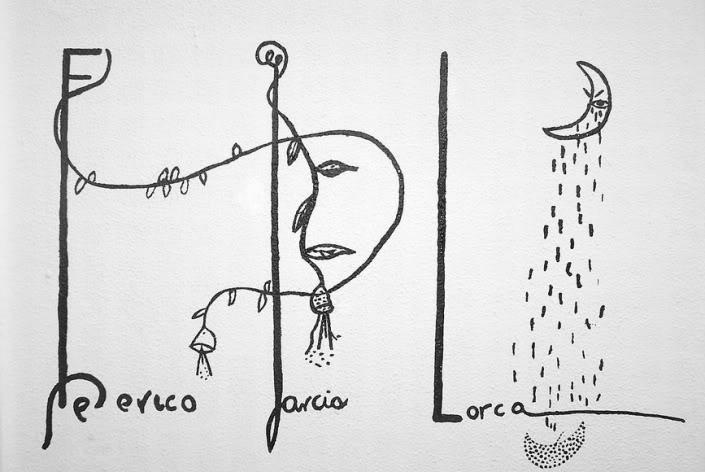 Resultado de imagen para dibujos de lorca quimera