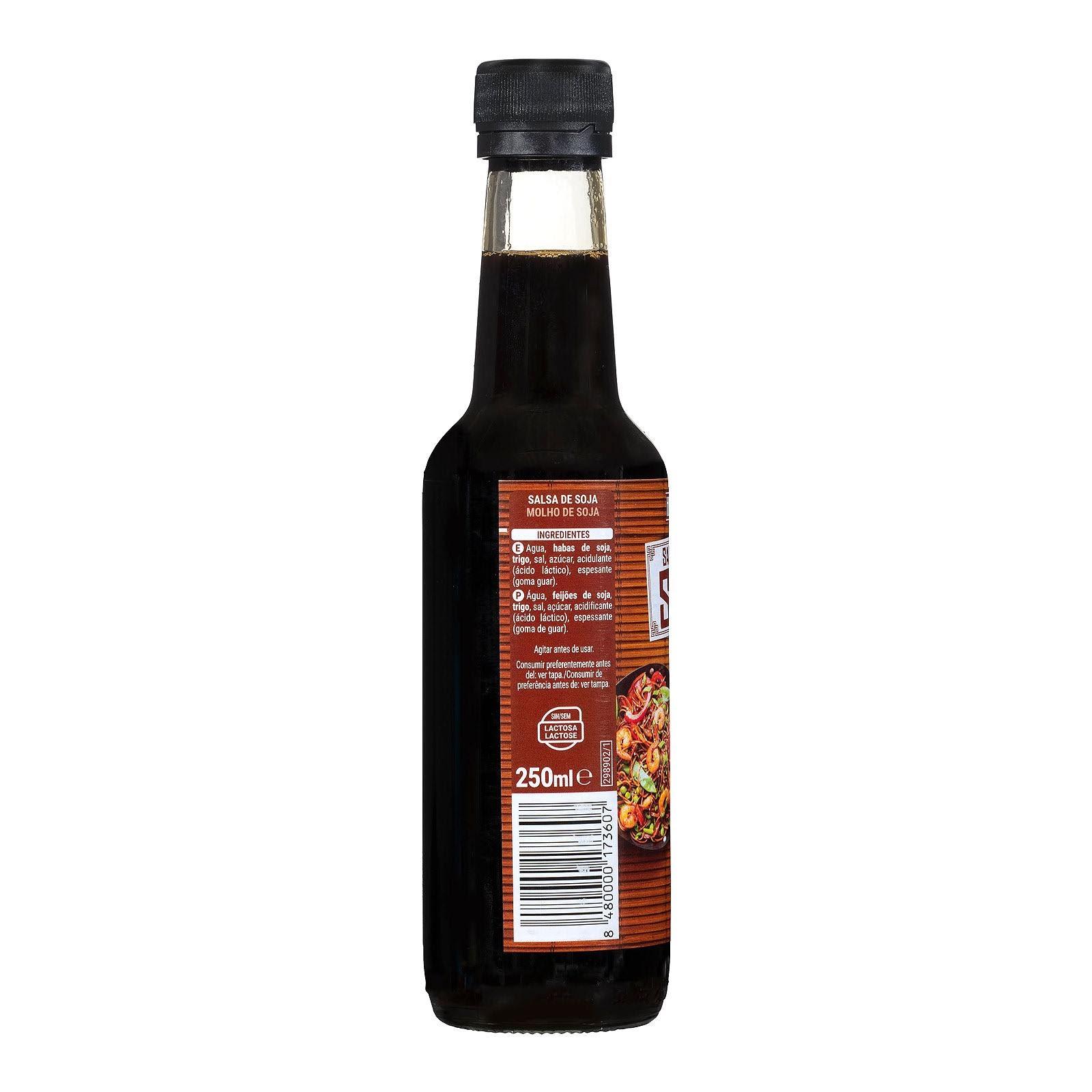 Salsa de soja Hacendado