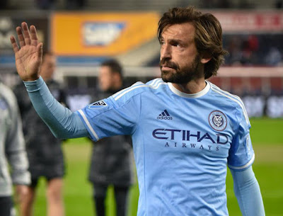 Andrea Pirlo announced his retirement from his career