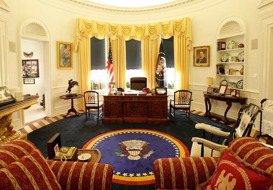 Cortocircuito el despacho oval de la casa blanca un - Despacho en el salon ...