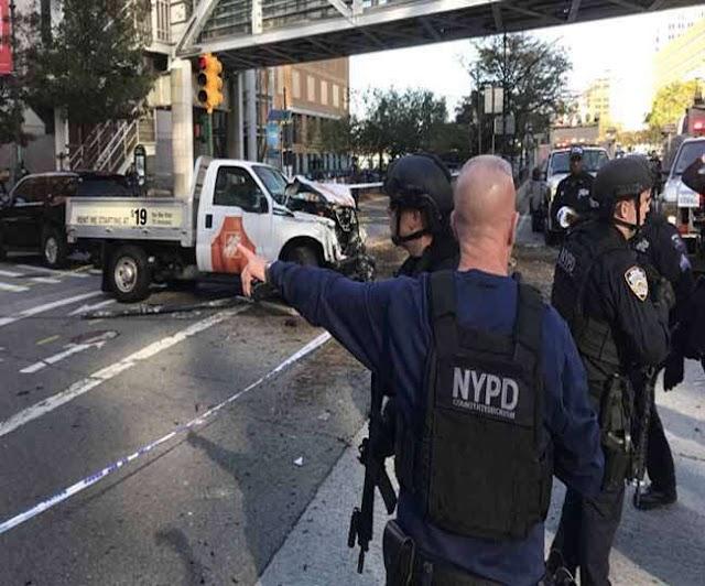न्यूयॉर्क में आतंकी हमले में 8 लोगों की मौत, PM मोदी ने की आलोचना