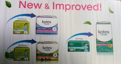 Sample Kotex New Liners Percuma