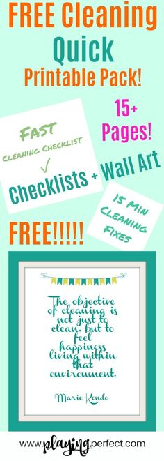 60+ Motivational House Cleaning Quotes - Spring Cleaning