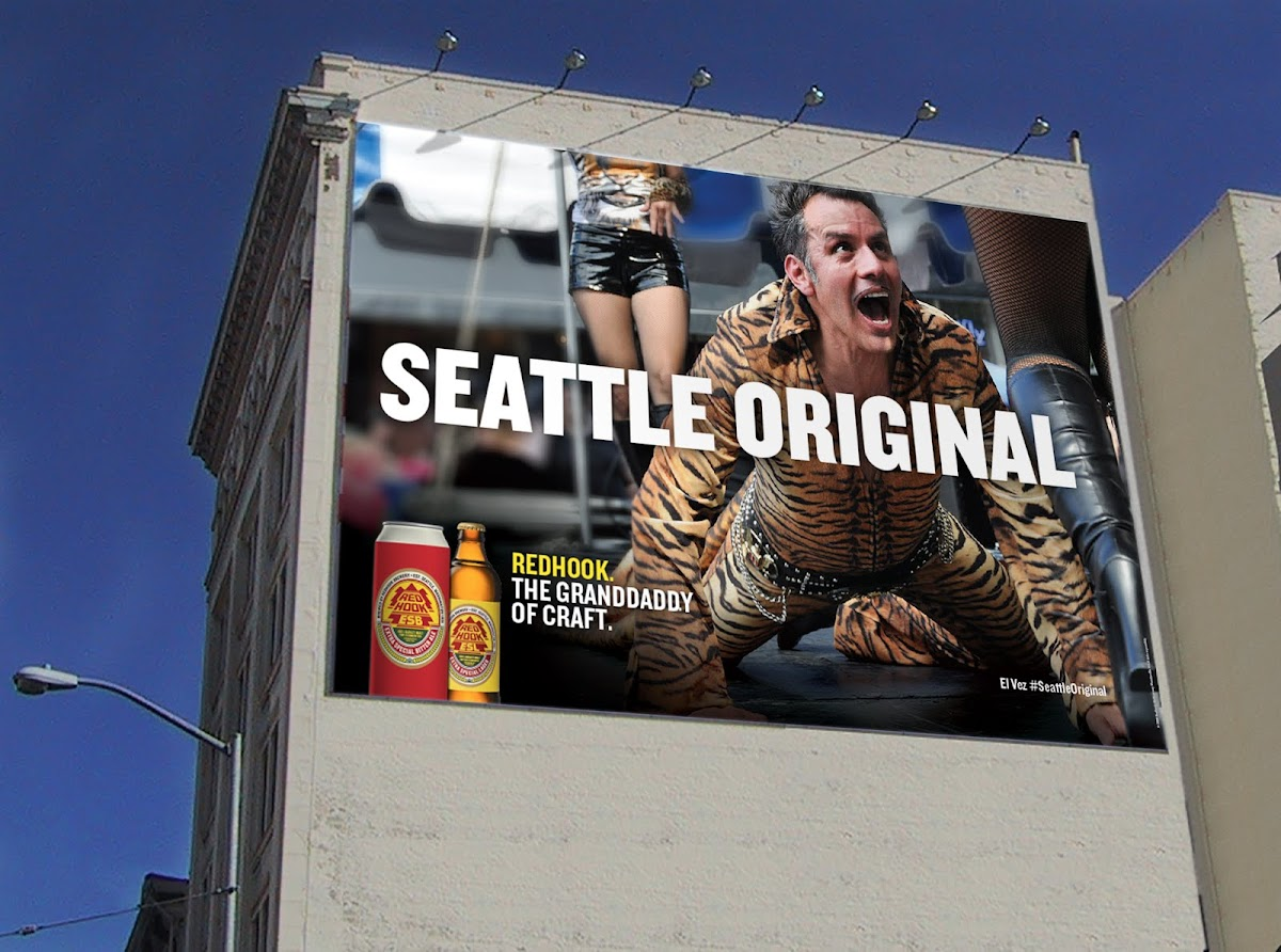 "Redhook Beer: ""The Grandaddy of Craft"" Seattle Originals Ad Campaign via Duncan/Channon"