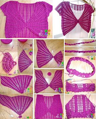 Crochet Bolero tutorial