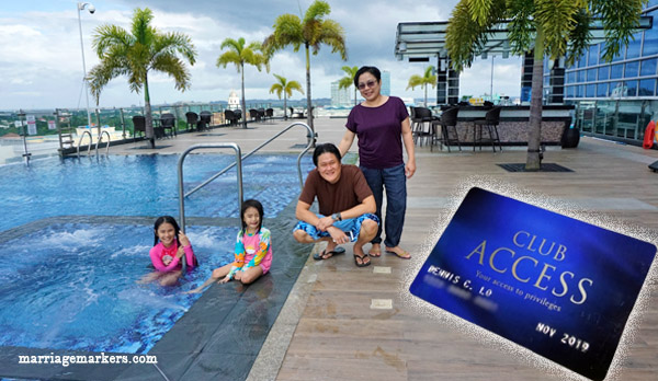 Megaworld Hotels Club Access Card - family travel - Bacolod blogger