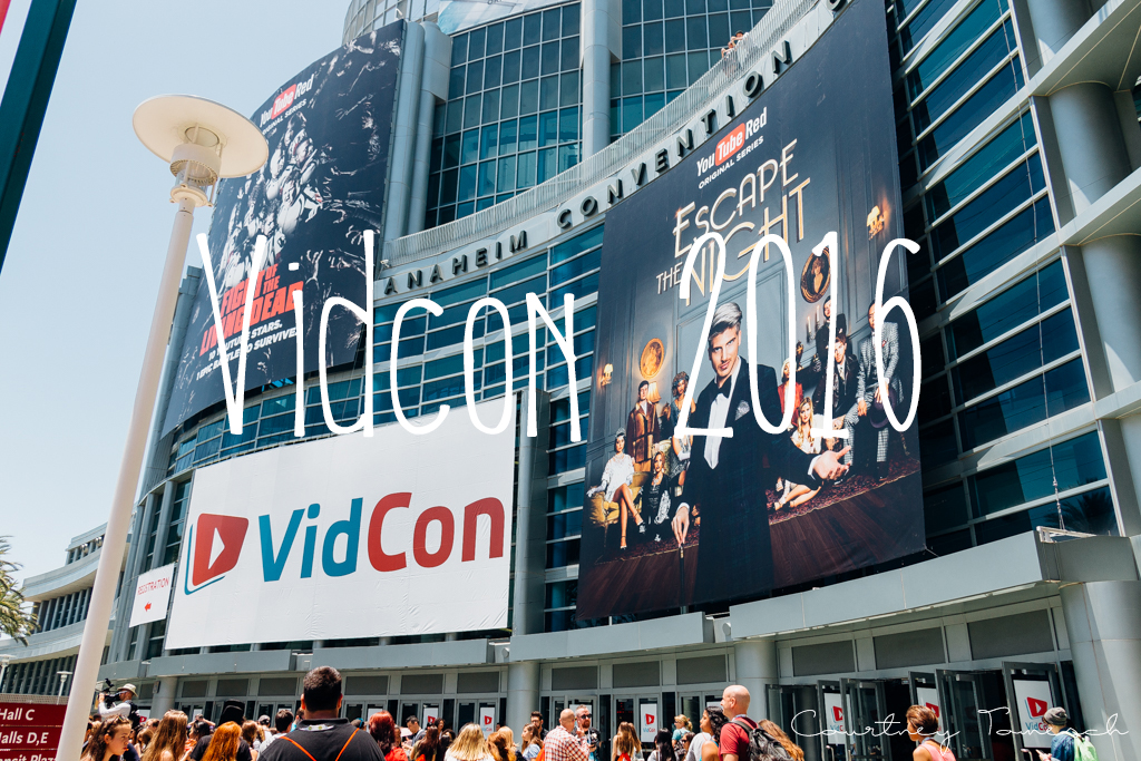 Courtney Tomesch Vidcon 2016