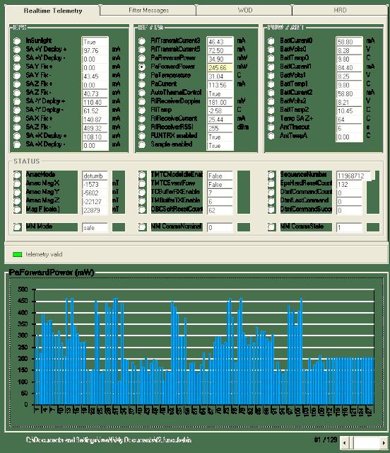 FUNCube-2 Telemetry decoder