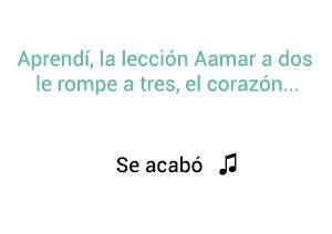 SanLuis Chino Nacho Se Acabó significado de la canción.