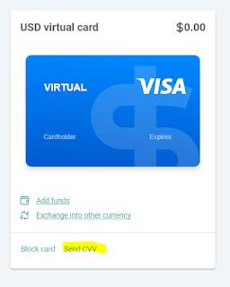 طريقة الحصول على فيزا إفتراضية لتفعيل البايبال مجانا