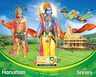 Lord-sri-rama-hanuman-wallpaper-psd-template-free-downloads-naveengfx.com