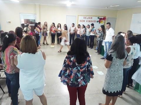 Coordenadores das Escolas Municipais de Trindade participam de formação do Programa Educação Integrada