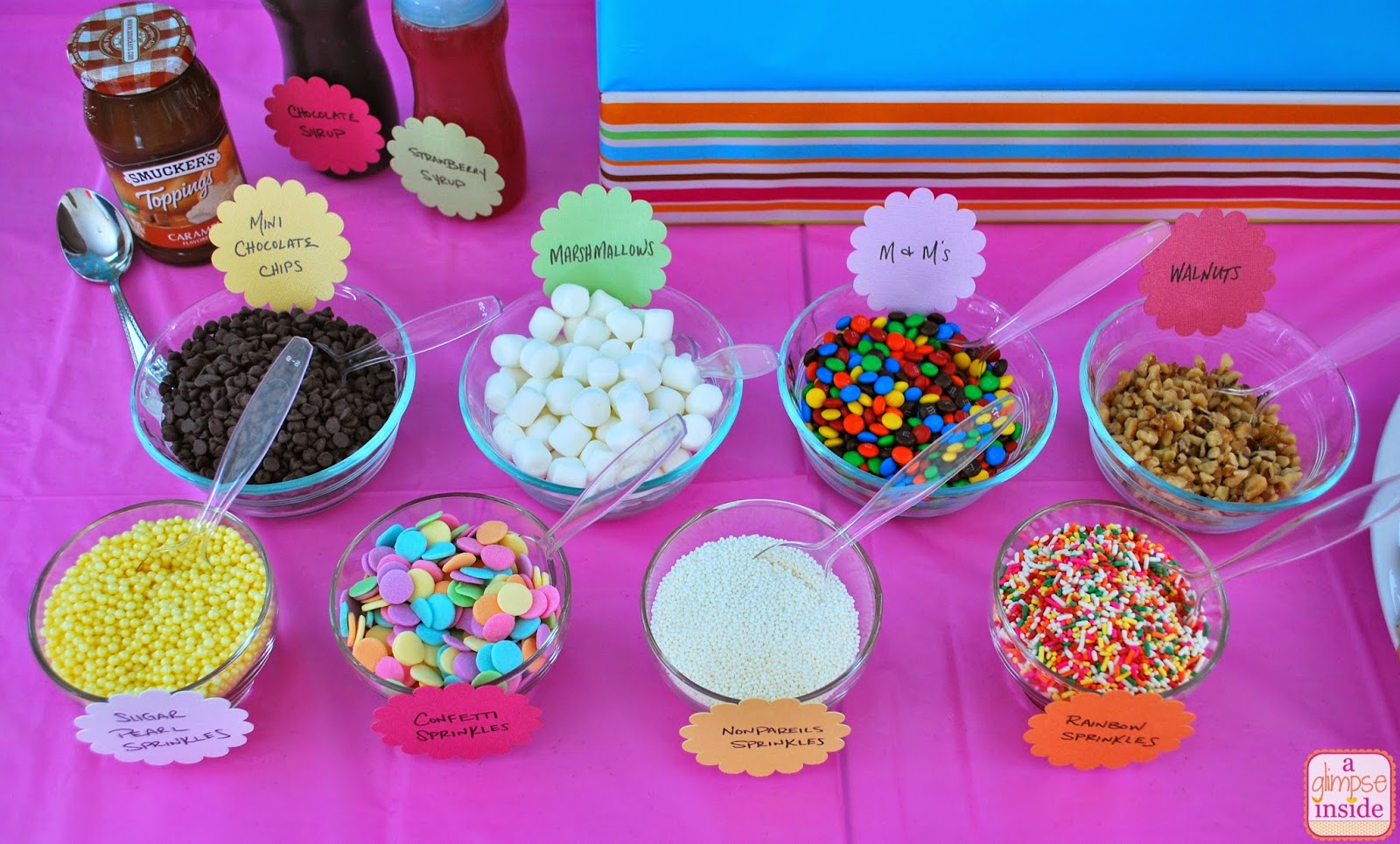 Ice Cream Birthday Party Decorations A Glimpse Inside