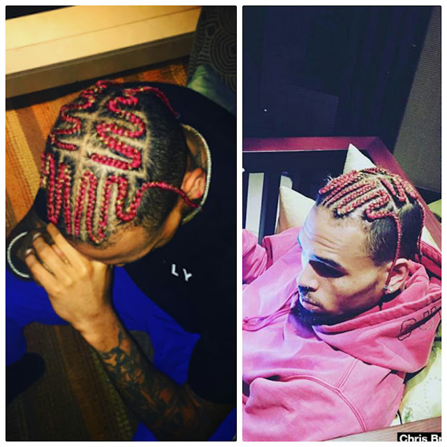 CHRIS BROWN: WHY PINK? BY MATHEW EBEDE