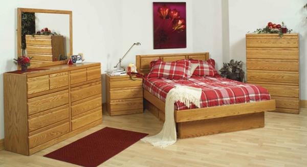 Furnitur kayu tempat tidur terbaik