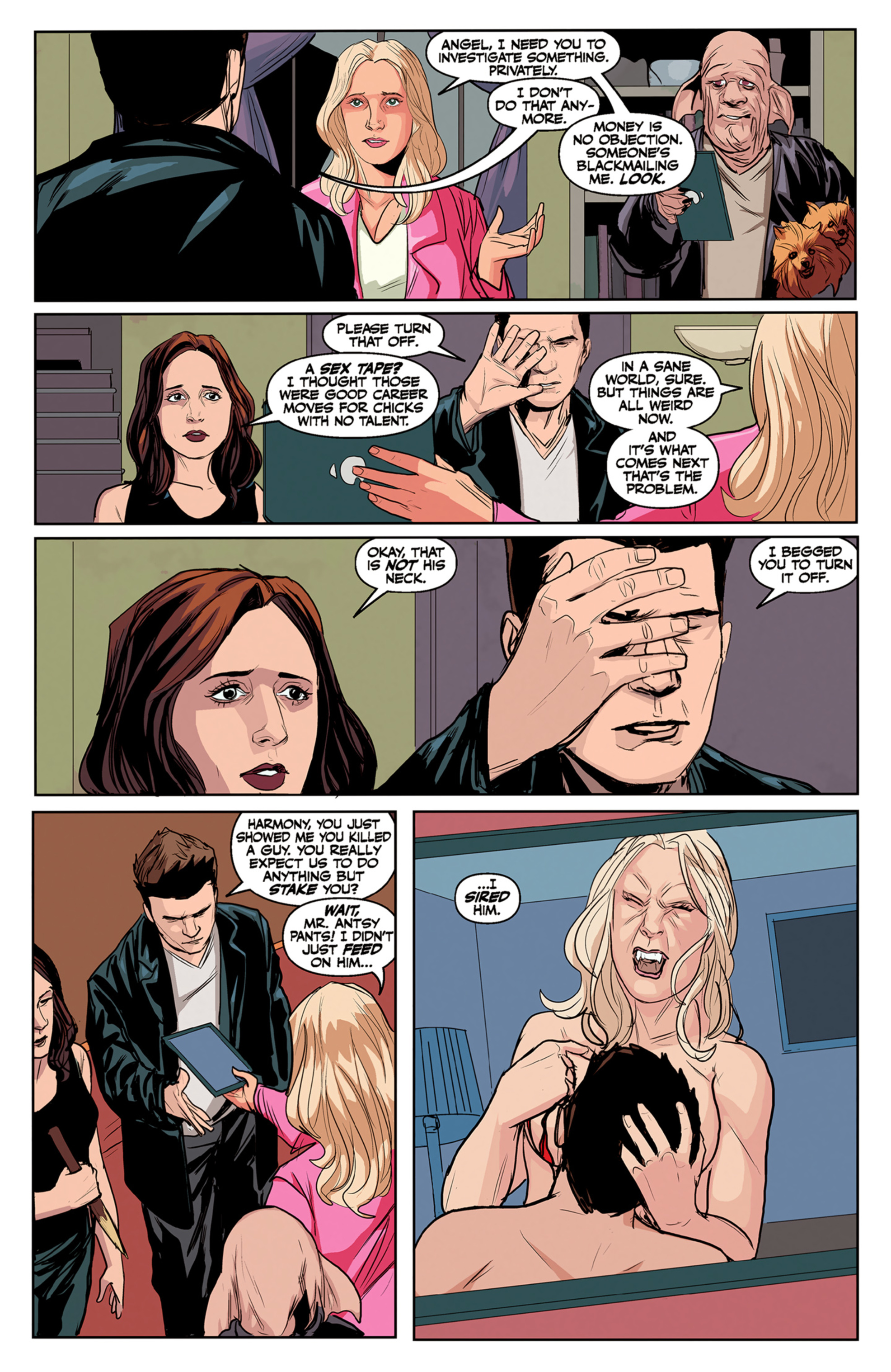 Read online Angel and Faith comic -  Issue #5 - 7