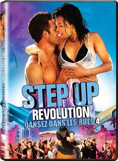 Step Up Revolution DVDR NTSC Español Latino Menú Full 2012