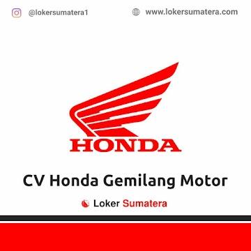 Lowongan Kerja Aceh Utara: CV Honda Gemilang Motor Juni 2021