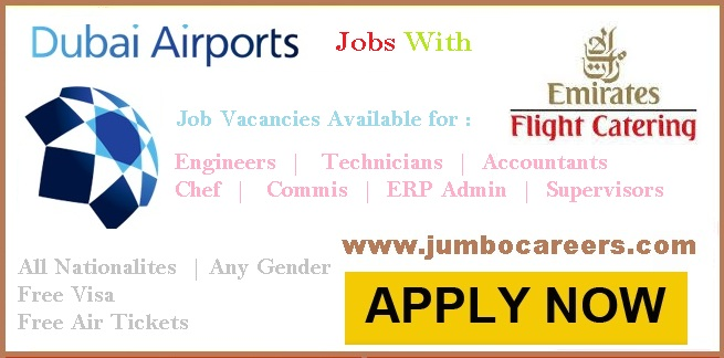Latest Dubai Airport Jobs In Emirates Flight Catering With