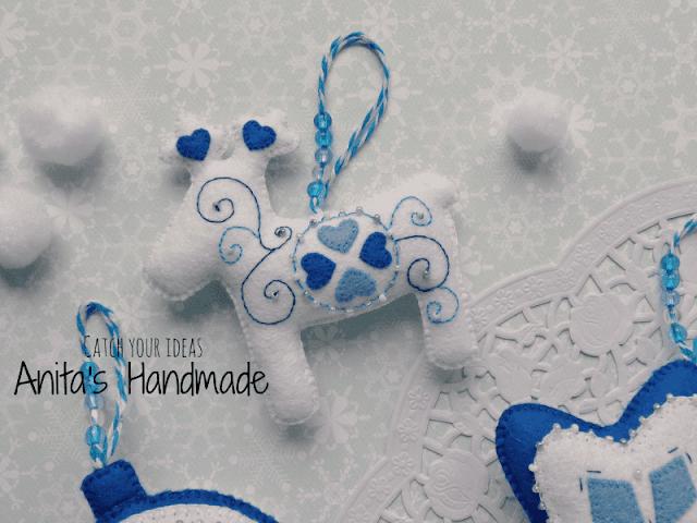 filc, felt, feltro, fieltro, swiateczne handmade, felt christmas, christmas handmade, handmade, hand made, ręcznie robione, recznie robione, zawieszka z filcu na choinke, filcowa zawieszka na choinke, christmas, christmas felt ornament, christmas decoration, świąteczne ozdoby, swiateczne ozdoby, boze narodzenie, craft, cute felt, hobby, felt craft, choinka, christmas tree, Adorno de Navidad en un árbol de navidad, Ornamento do Natal em uma árvore de Natal, handmade, hand made, anita's handmade, anitas  handmade, ręcznie szyty, recznie szyte, weihnachten, styl skandynawski, scandinavian style, scandinavia, norway, felt star, felt reindeer, felt heart, felt bauble