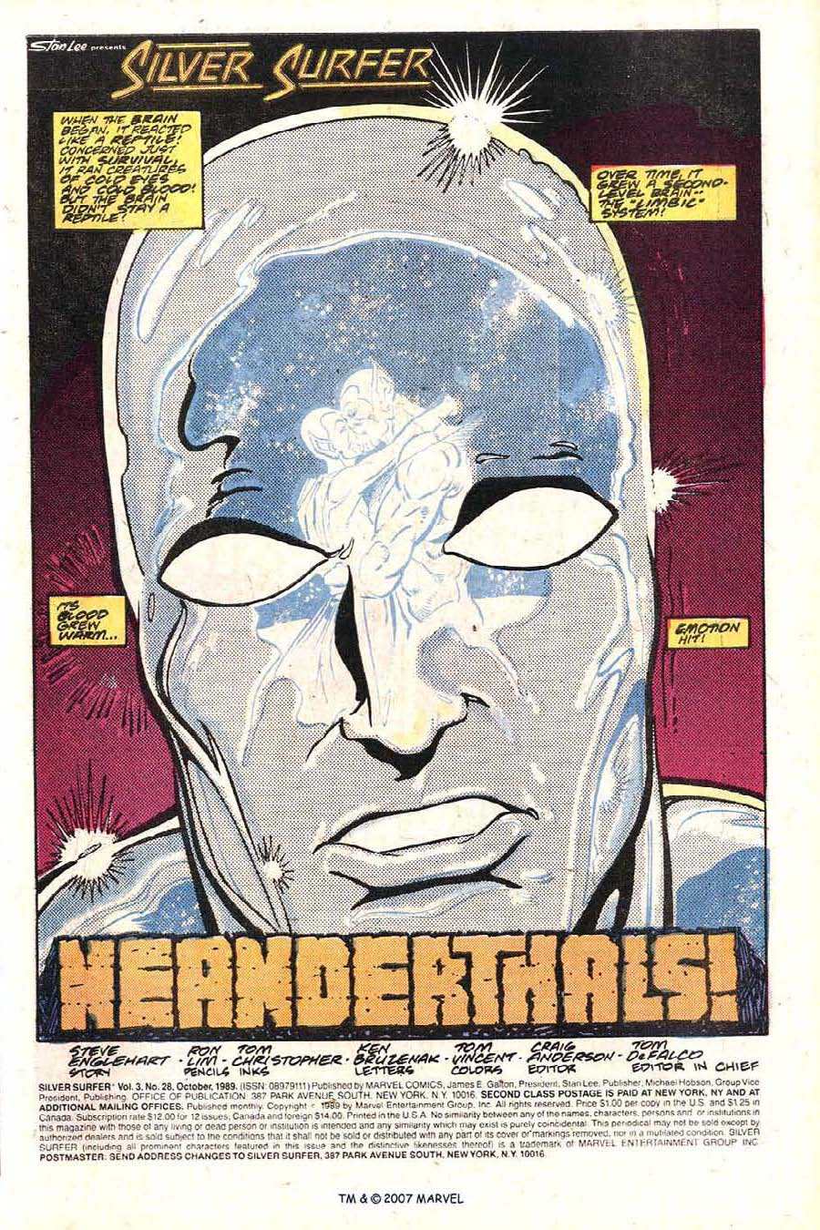 Read online Silver Surfer (1987) comic -  Issue #28 - 3