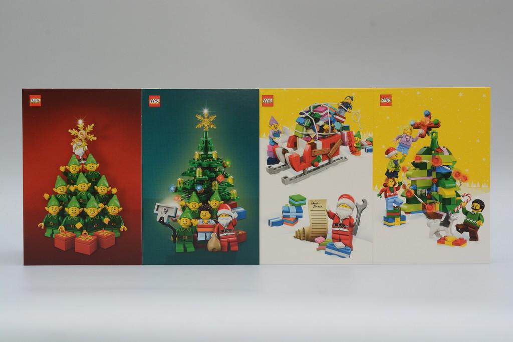 Lego Christmas Card 2016聖誕卡片開箱報告- 魯蛇實驗室