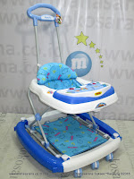 Family FB2116LD Train Melody Rocker Baby Walker