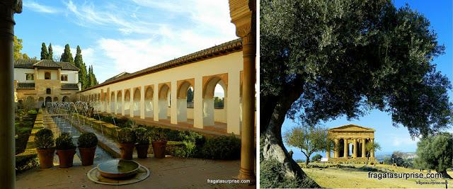 Bom destino de viagem para janeiro: Andaluzia e Sicília