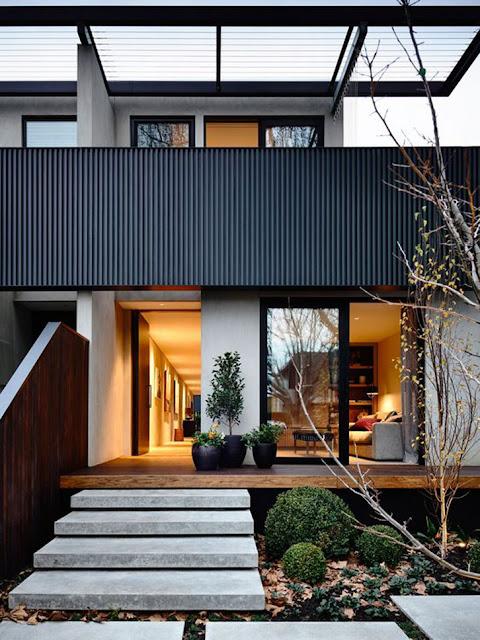 Rumah Minimalis dengan Teras Cantik