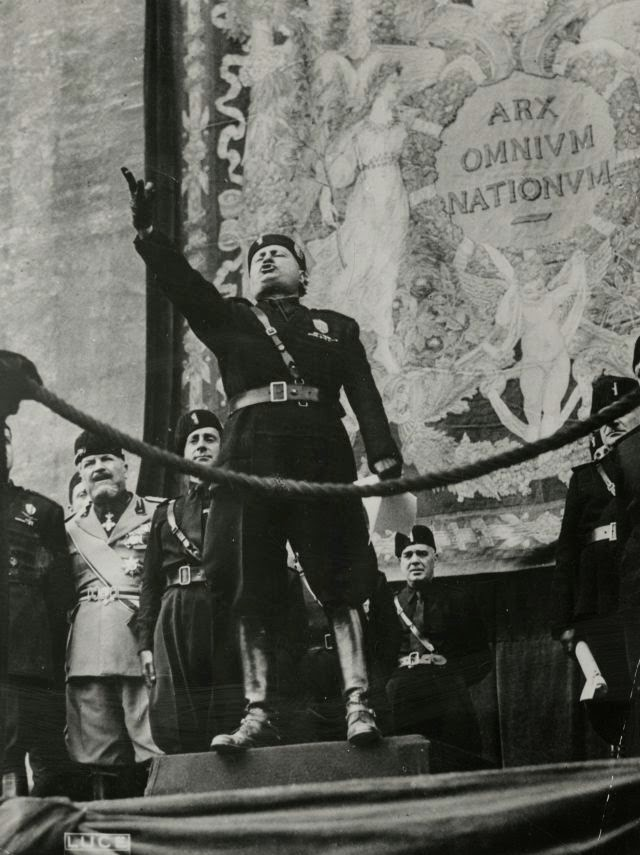 worldwartwo.filminspector.com Benito Mussolini speech