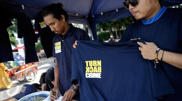 "Kapolri: Tidak Dilarang Pakai Kaos ""Turn Back Crime"""