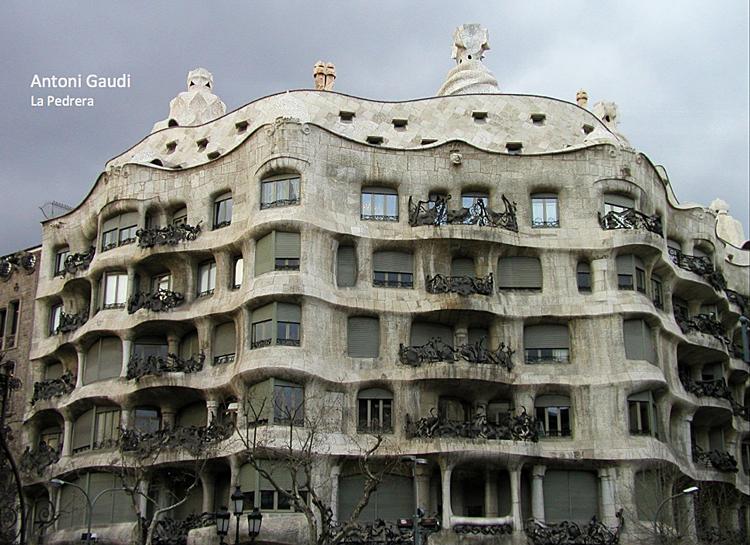 Stijl Van Gaudi.Het Modernisme Jugendstil