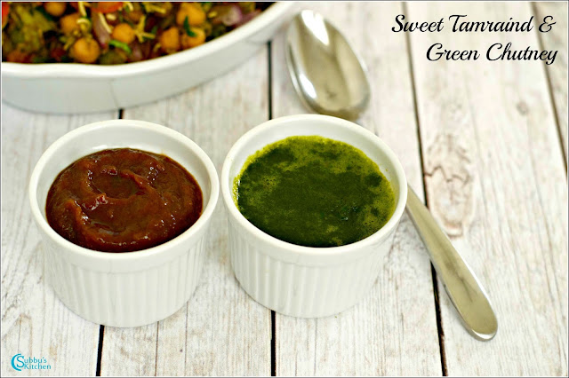 Green & Sweet Tamarind Chutney