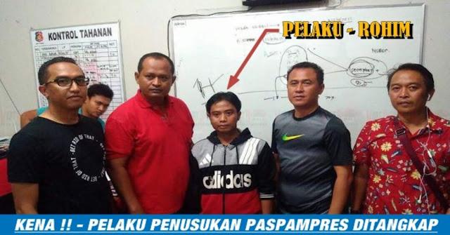 Pelaku Penusukan Paspampres Akhirnya Ditangkap Kepolisian