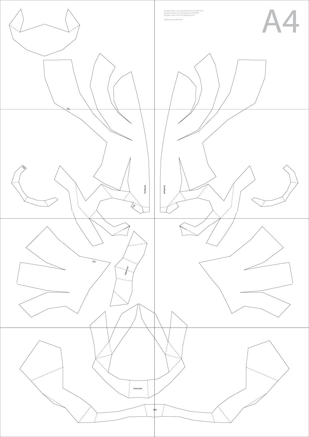 Amazing Cardboard Roman Helmet Template Composition - Resume Ideas ...