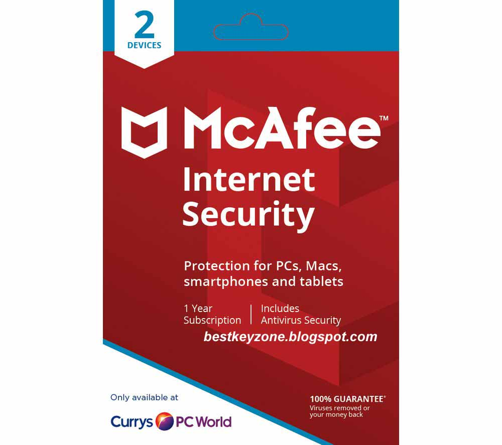Free Internet Security >> Mcafee Internet Security Product Key Free 6 Months 2019
